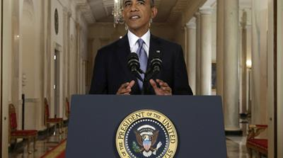 """We cannot and must not turn a blind eye to what happened in Damascus,"" Obama said on August 31 [AFP]"