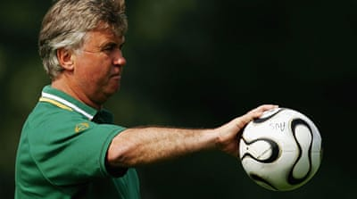 Hiddink enjoyed huge popularity with Australian fans during the 2006 World Cup campaign [GETTY]