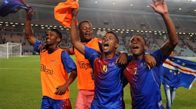 Cape Verde had advanced to the final qualifying round with a surprise win over Tunisia [AFP]