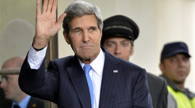 Kerry said the negotiations were not a game [AP]