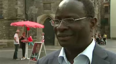 Immigrant aims to be Germany's first black MP