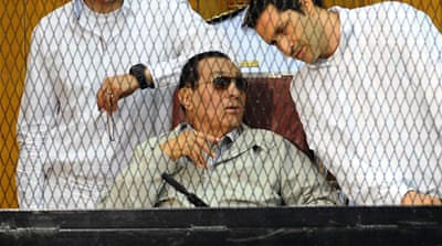 Former Egyptian President Hosni Mubarak is accused of complicity in the killing of demonstrators [File: AP]