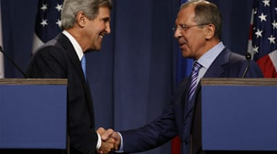 Washington and Moscow are also working to get peace talks to end Syria's war [Reuters]