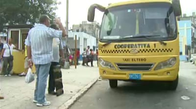 Cuba upgrades transport in reform drive