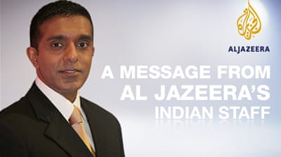 A message from our Indian staff