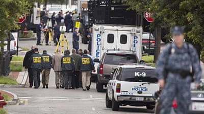US names navy base shooting suspect