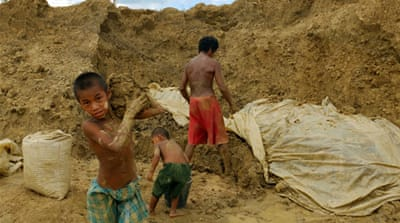 Building a new life from the mud in Myanmar