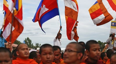 Flagging change in Cambodia