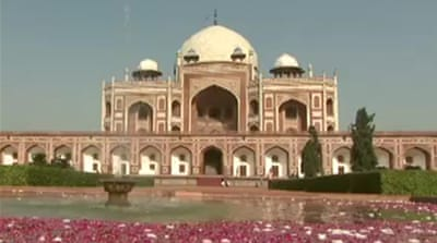 World heritage site restored in India