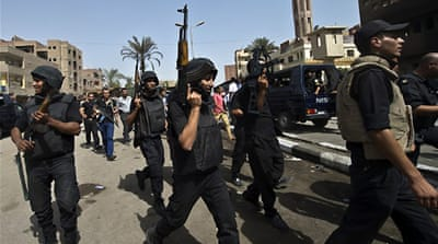 Egypt security forces storm pro-Morsi town