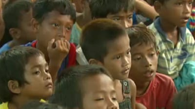 Philippine children traumatised by standoff