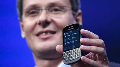 Blackberry to slash global workforce by 4,500