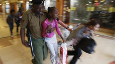 Deadly gun battle in Nairobi shopping mall