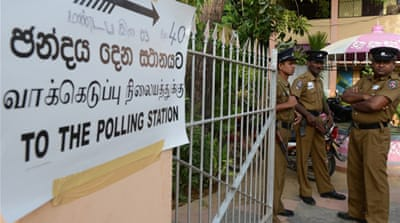 Vote count begins in Sri Lanka's Tamil north