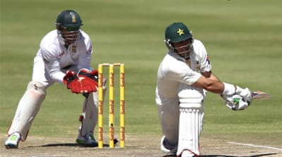 Pakistan tied the two-match series against minnows Zimbabwe earlier in September [AFP]