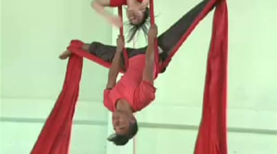 Nepal's rescued circus children