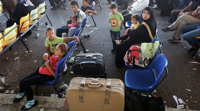 1,200 Palestinians used to exit the Rafah crossing per month, but now only 300 are allowed to leave [EPA]
