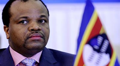 Swaziland's King Mswati III retains absolute power over the country [AFP]