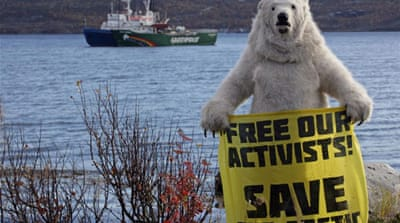 Greenpeace activists granted bail in Russia