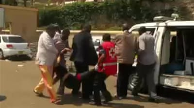 Video shows Nairobi-attack first-aid effort