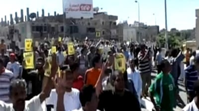 Protesters took to the streets in several towns and cities answering a call by the Anti-Coup Alliance