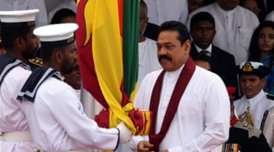 Mahinda  Rajapaksa: 'This is all propaganda'