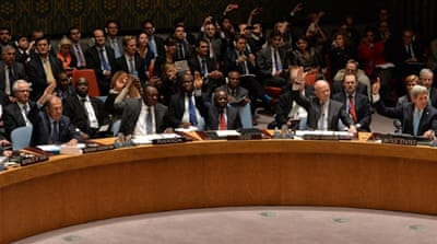 UN unanimously adopts Syria arms resolution