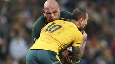 South Africa's performance didn't quite secure the bonus-point the hosts craved [EPA]