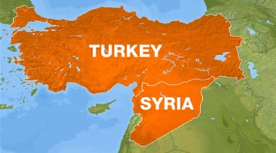 Turkey- syria map [Al Jazeera]