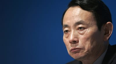 Jiang was the first member of the Communist Party's Central Committee to face investigation [Reuters]