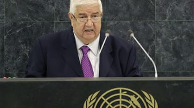 Syrian FM defends government at UN