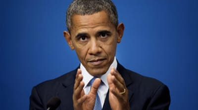 Obama: World cannot be silent on Syria