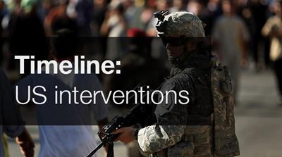 Interactive: US interventions post-Cold War