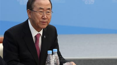 UN chief slams Syrian president