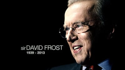 Sir David Frost at Al Jazeera