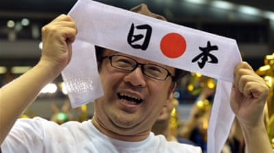 In Pictures: Tokyo celebrates