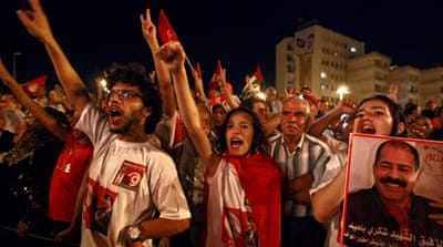 The ongoing division in Tunisia has deepened more since the assassination of Mohamed Brahmi [Reuters]
