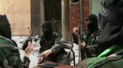 All-female rebel group fights in Aleppo