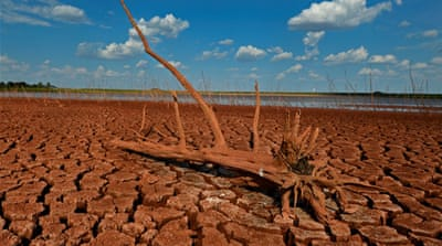 Texas dries up