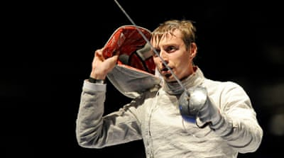 World champion fencer turns fortunes around