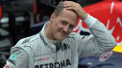 Michael Schumacher is said to be in a serious but stable condition [AFP]