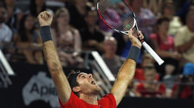 Del Potro now heads to Melbourne for the opening Grand Slam of the year which begins on Monday [AFP]