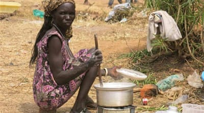 South Sudan refugees seek shelter in Uganda