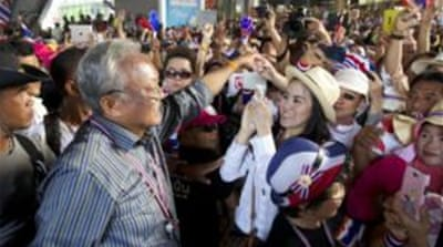 Thai protest leader refuses to compromise