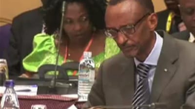 Rwandan president issues betrayal warning