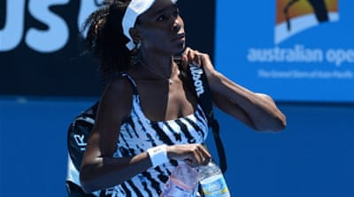 Venus suffers from Sjogren's Syndrome which causes fatigue and joint pain [AFP]
