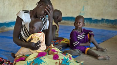 In Pictures: Displaced in South Sudan