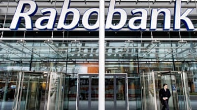 Rabobank had already settled with the US Justice Department and agreed to pay a $325 million penalty [EPA]