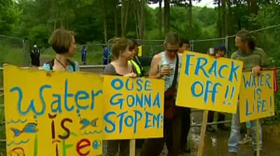 Protests continue over UK fracking decision