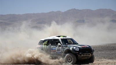 Peterhansel has won the Dakar Rally 11 times, including the last two editions [AFP]